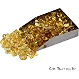 Select Your Stone 50 Carat Mix Gemstone Lot Exclusively by GemMartUSA (CITRINE) CI-60001