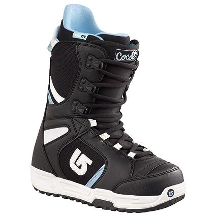 Amazon Com Burton Coco Snowboard Boot 2012 Black White 5