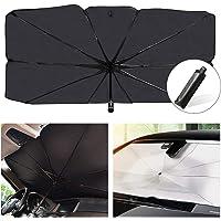 Helloleiboo 53 x 31 Inch Car Windshield Umbrella
