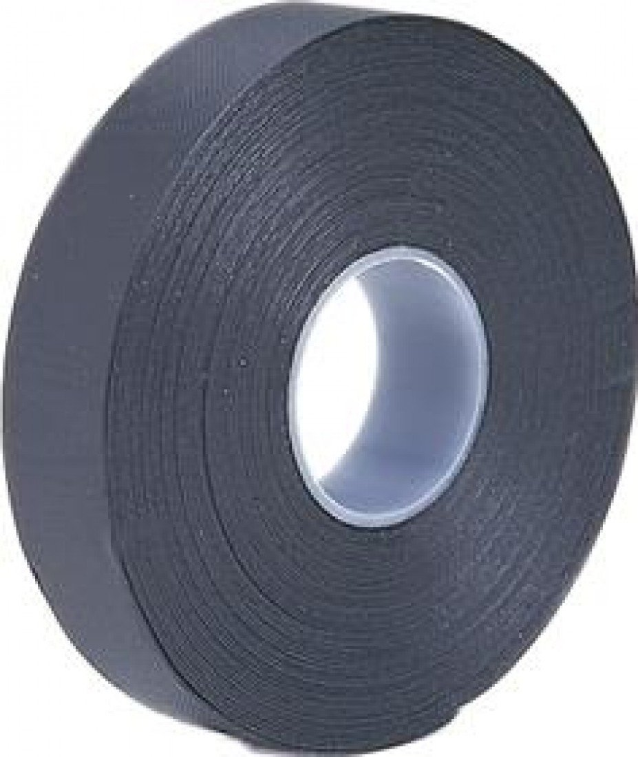 Black 19 mm x 10 m Self Amalgamating Tape for Waterproofing Connections Trade Mart Y011B