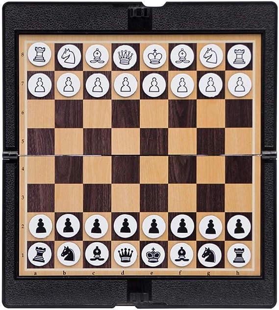 Schach Tasche Magnetisch Faltbar SchachBrett Schachkit Mini 32pcs Fanshion