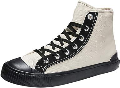 ZARLLE_ Hombre Zapatillas Hombres Zapatos de Lona de los,ZARLLE ...