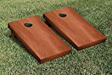 Rosewood Stained Regulation Cornhole Game Set
