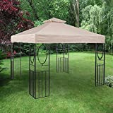 Garden Winds Replacement Canopy for the 10' x 10' Masley Gazebo - 350