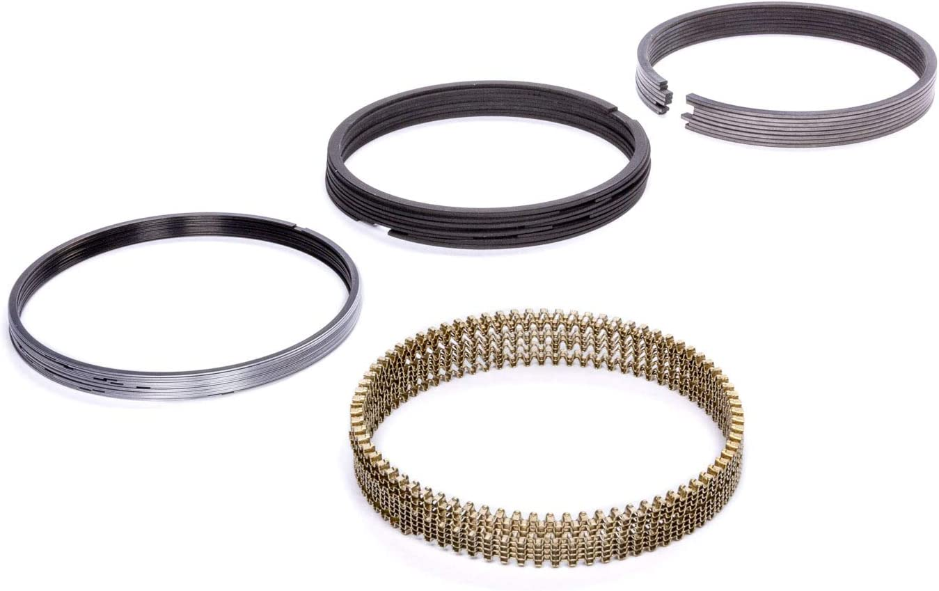 1.5 x 1.5 x 3.0 mm Thick 4.045 in Bore Kit Standard Tension Plasma Moly 8 Cylinder Piston Rings