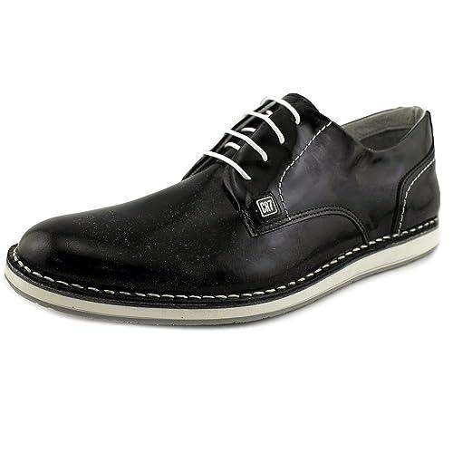 CR7 Cristiano Ronaldo Men Grunge Derby Shoe 01 Patent 45 EU Black  Amazon.es   Zapatos y complementos c9a49d987ea85