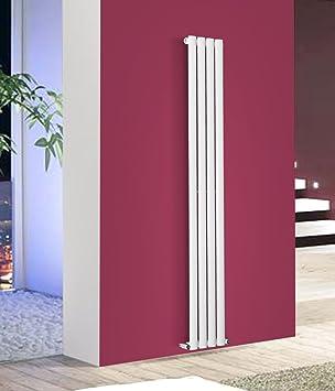 NRG, Heizkörper Für Zentralheizung, Einzelpaneel, Vertikal, Oval, 1800 X  236 Mm