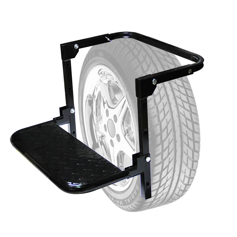 Auto Procarry Tire Step, Black Adjustable Truck Tire Step Fits 13.5-inch by Auto Procarry (Image #1)