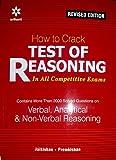 Test Of Reasoning verbal,anaytical & non-verbal reasoning by arihant