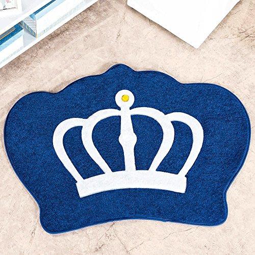 Tapete Formato Coroa Azul Royal