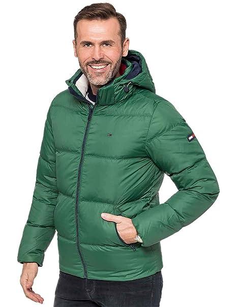 mirada detallada mejor proveedor color rápido Tommy Hilfiger - Essential Down - Plumas Verde - Hombre ...