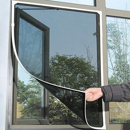 130 Cm X 150 Cm Fliegengitter Rahmen Selbstklebendes Klebeband Rahmen Insektenschutz Fenster Zuschneidbar Ohne Bohren Klebmontage Insektenschutz Fenster Fliegenvorhang Moskitonetz Amazon De Baumarkt