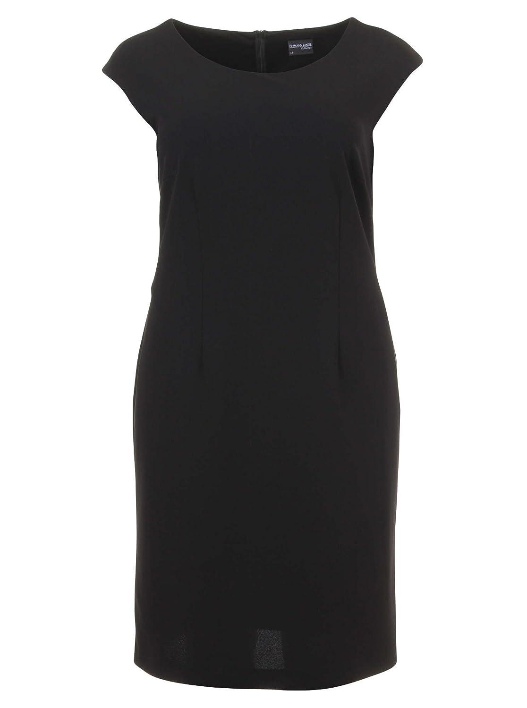Elegantes Kleid in schwarz in Übergrößen (44, 46, 48, 50, 52) von Hermann Lange