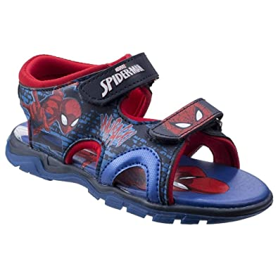 huge selection of ba783 0a5e2 Leomil Jungen Spiderman Schuhe Sandalen: Amazon.de: Schuhe ...
