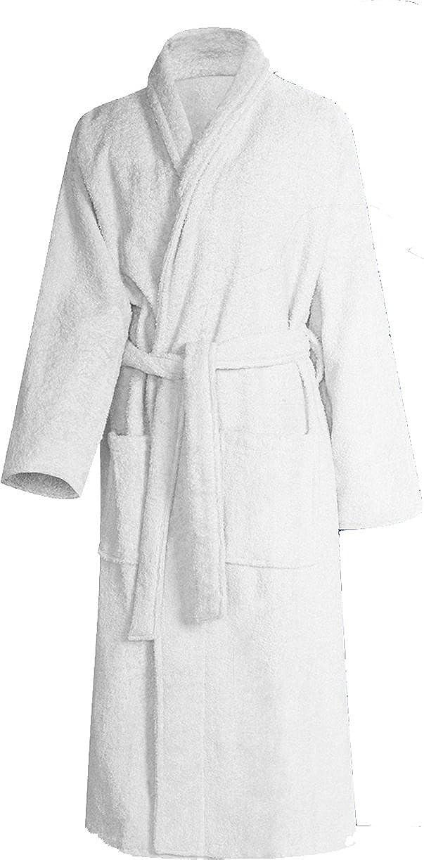 100 /% algod/ón mullido y suave albornoz para sauna Albornoz