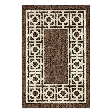 Shaw Rugs Indian Rug (Mohawk Home Signature Davidson 20-Inch x 34-Inch Accent Rug in Brown l Permanent Colorfastness l Super soft l Exceptionally Durable)