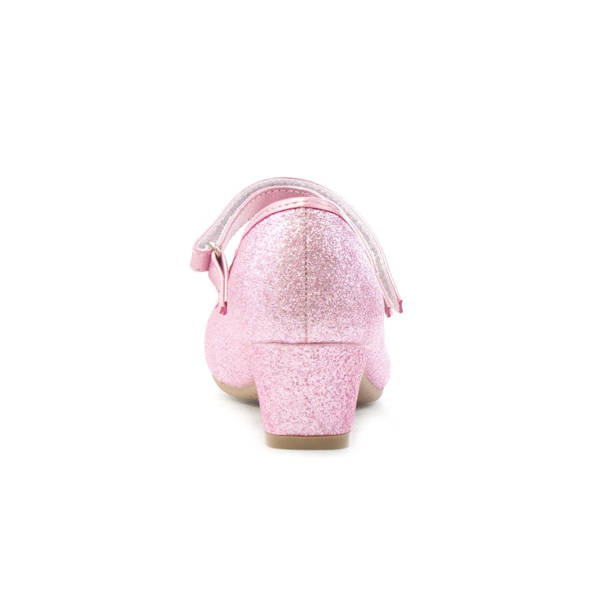 Lilley Sparkle Girls Pink Flower Party Shoe-20807 forecasting to wear for everyday in 2019