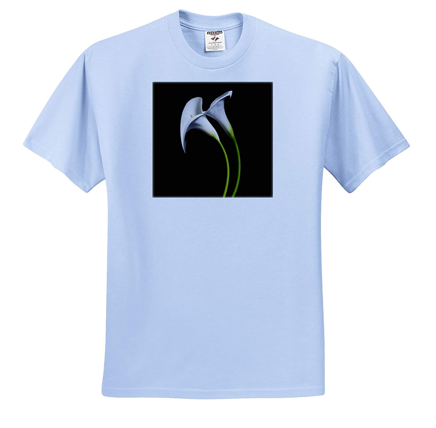 Two Calla Lily Flowers 3dRose Danita Delimont Flowers ts/_314630 - Adult T-Shirt XL California USA