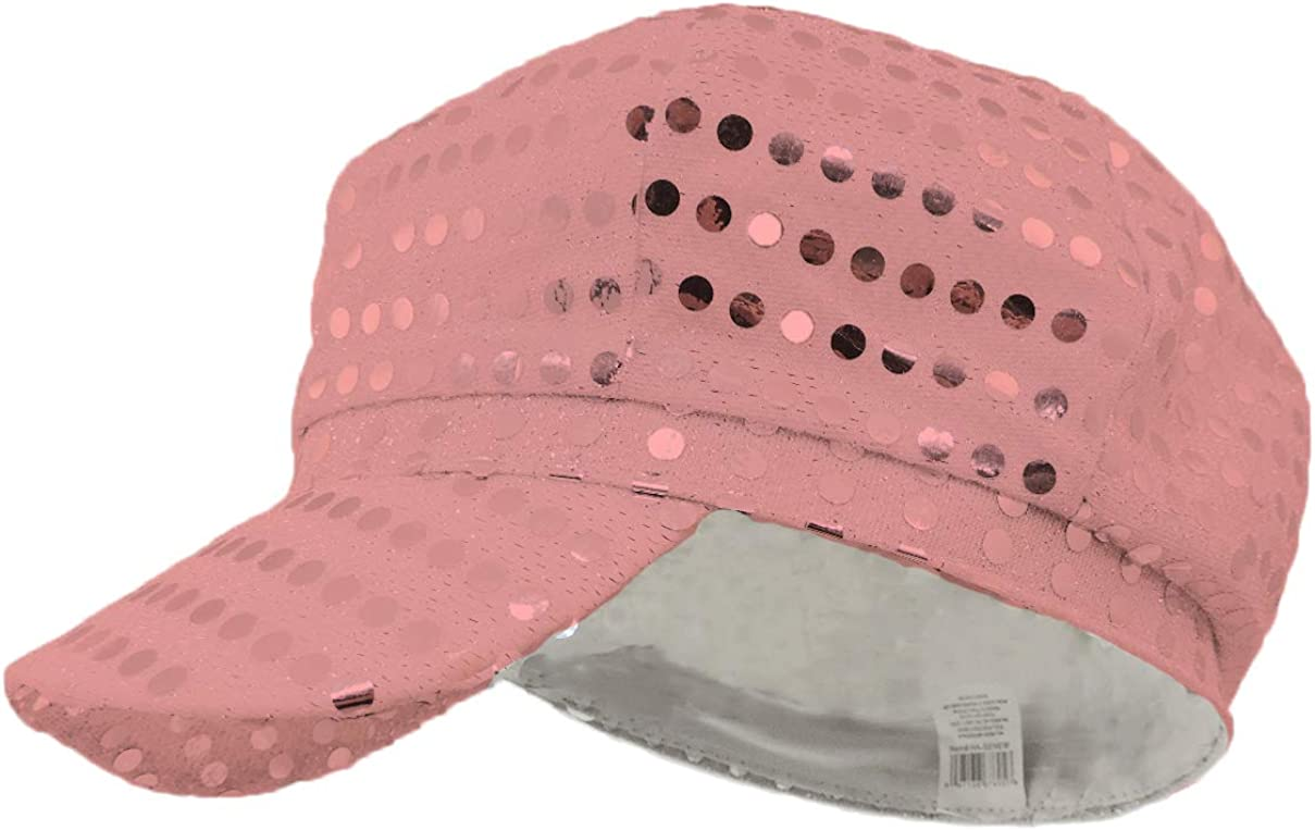 M/&Co Girls Two Way Sequin Sun Hat