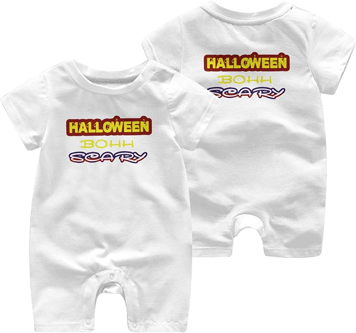 Mri-le1 Toddler Baby Boy Girl Short Sleeve Jumpsuit Halloween Scary 2019 Baby Clothes