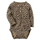 Carter's Baby Girls' Bodysuit - Animal print (9 Months)