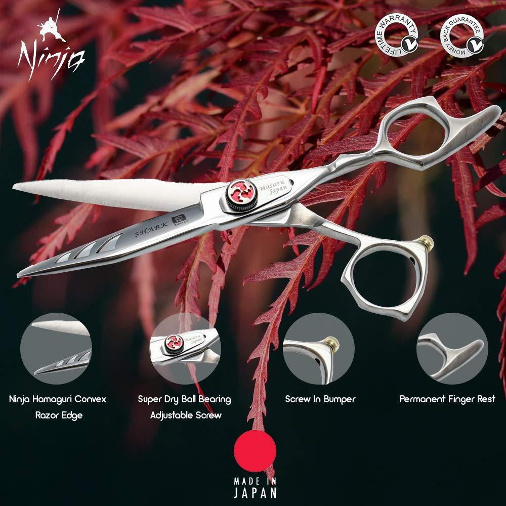 Ninja Masaru Tijeras de peluquería profesional de tiburón ...