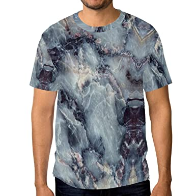 95778568c86d Image Unavailable. Image not available for. Color: Marble Abstract Art Men's  Short Sleeve T-Shirt Royal Blue ...