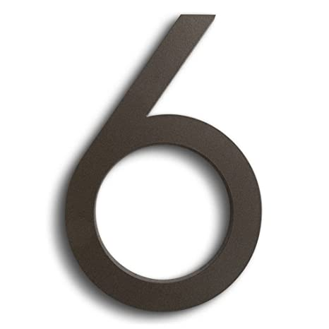 Bronze House Numbers And Letters The Best Letter - 10 inch metal house numbers