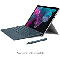 Microsoft Surface Pro 6, Intel-i5, 8GB RAM, 128GB SSD , 12.3inch, 2 in 1Laptop, Intel UHD Graphics 620, Windows 10 Home in S Mode, No Keyboard, Platinum (LGP-00006)Middle East Version