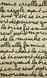 Liora Manne Spello Poem Rug, Indoor/Outdoor, 8-Feet 3-Inch by 11-Feet 6-Inch, Black
