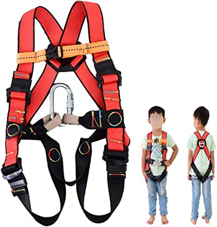 Arnés de escalada de cuerpo completo para niños Equipo de ...