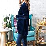 XOWRTE Women's Solid Regular Frill Slim Fit Coat