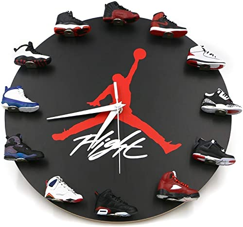 Sneakers Wall Clock with