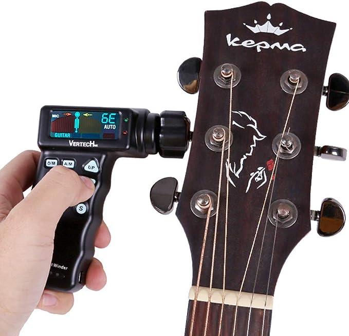 Inteligente Automático Afinador de Guitarra,Rápido Eléctrica ...