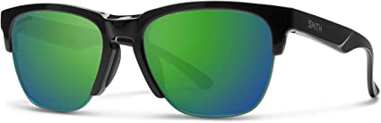 Smith Haywire Polarized Sunglasses Black Chromapop Sun Green Mirror Smith Optics