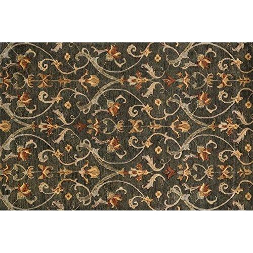 Hand Tufted Charcoal (Loloi Fulton 5' x 7'6