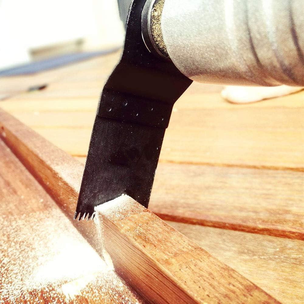 Lot de 10 lames de scie oscillantes universelles pour scie /à bois Dremel Fein Makita Milwaukee