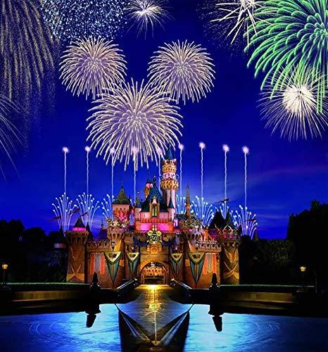 (Magic Kingdom Disney Castle Iron On Transfer for T-Shirts & Other Light Color Fabrics #6)