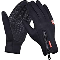 Flyme Winter Gloves Touch Screen Windproof Outdoor Casual Ski Cycling Camping Hiking Thermal Wearproof Full Finger Multifunctional Gloves for Men Women