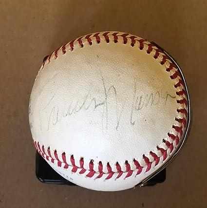 1a963fcc269 Thurman Munson Autographed Signed Baseball - JSA - Single ...