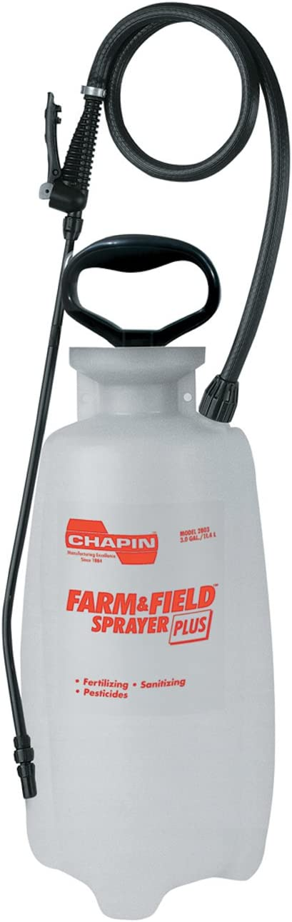 Chapin International 3-Gallon Farm Sprayer, Gray (2803E)