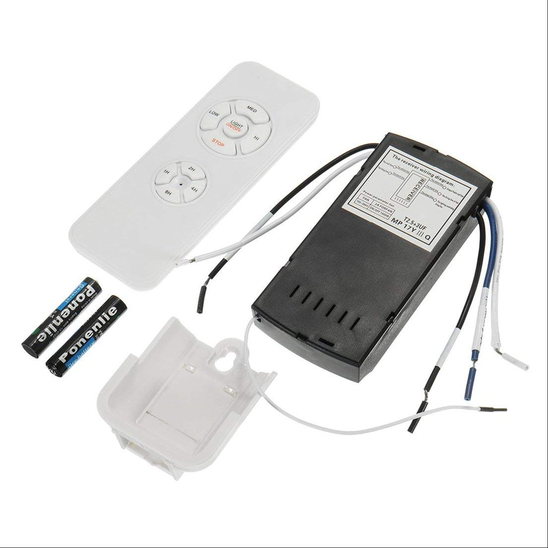 Universal Ceiling Fan Lamp Remote Control Kit 110-240V Timing ... on ceiling fan schematic, ceiling fan receiver wiring, ceiling fan wiring blue wire, ceiling fan remote stopped working, ceiling fan control module, ceiling fan winding diagram, ceiling fan light repair parts, ceiling fan electrical diagram, ceiling fan wall remote, ceiling fan connection, ceiling fan wiring colors, ceiling fan with two switches wire diagram, ceiling fan remote controls, ceiling fan speed control wiring, ceiling fan remote battery, ceiling fan remote repair, ceiling fan circuit, ceiling fan electrical wiring, ceiling fan parts diagram, ceiling fan switch,