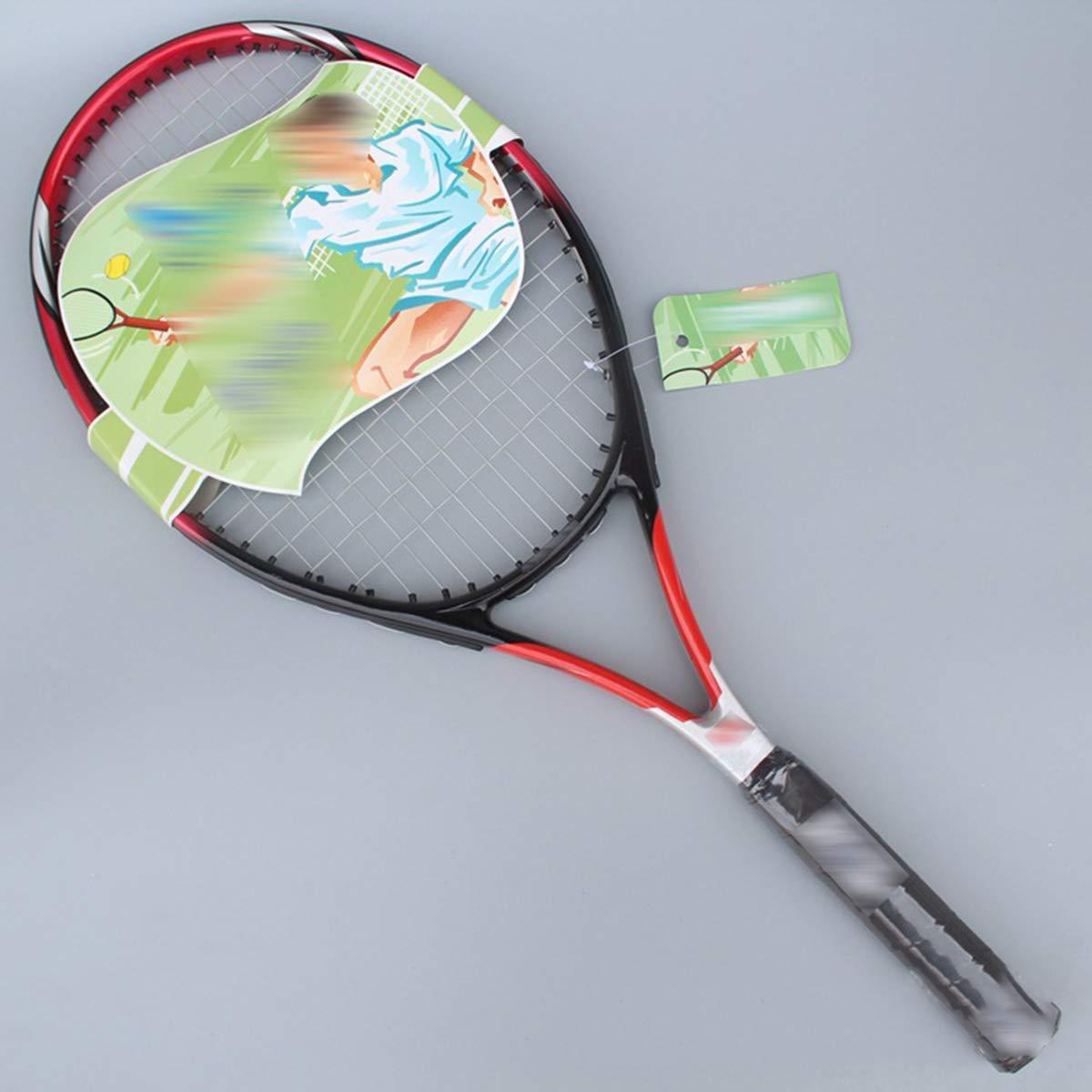 Raquette De Tennis Professionnel De Haute Qualité Single Unisexe Ultralight En Aluminium Carbone Un Jeu Formation Raquette De Tennis