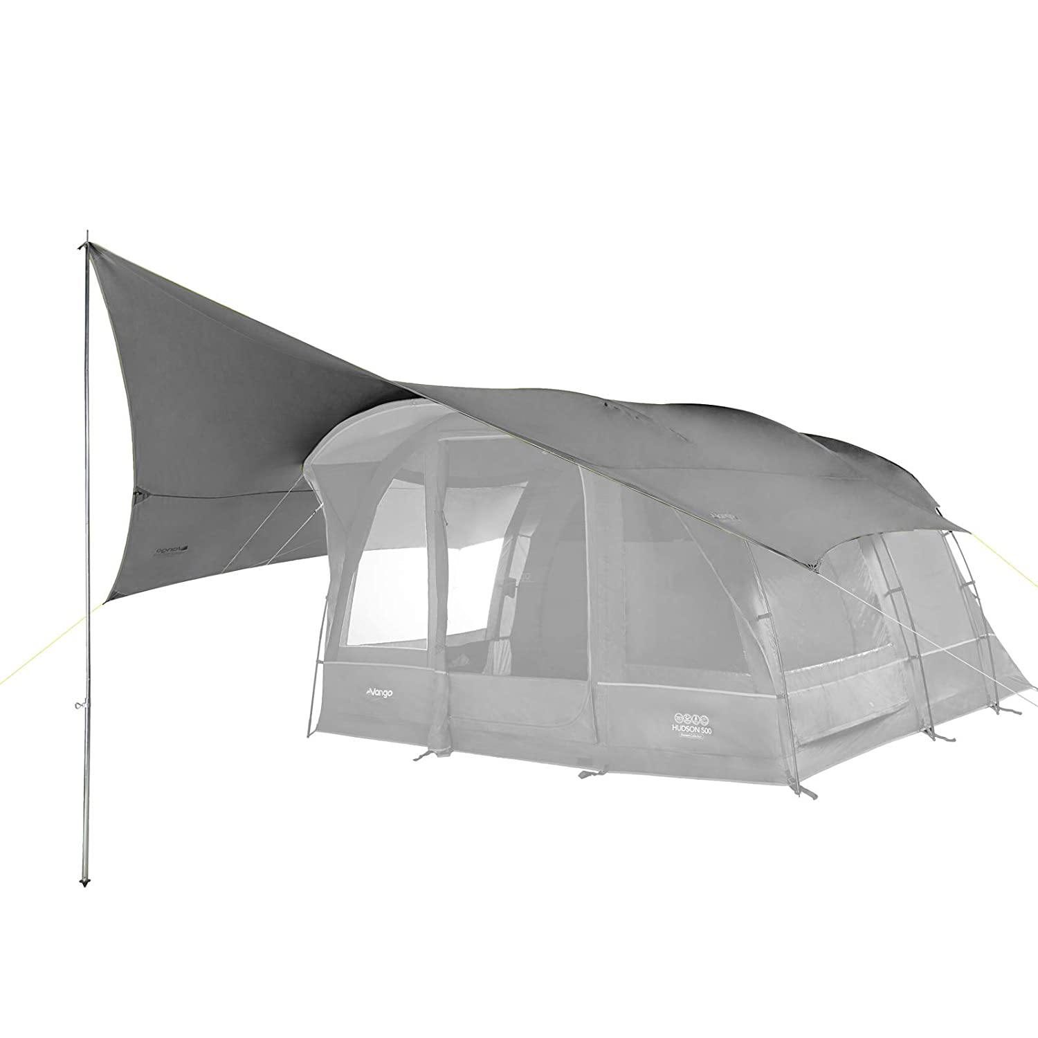 Vango Family Shelter for Poled and Airbeam Tents Cloud gris