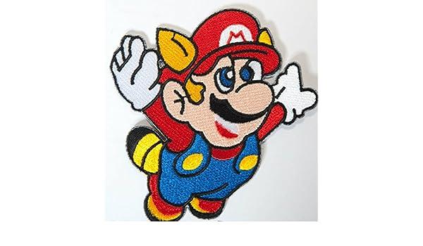 Bowser parche bordado hierro en placa de disfraz Cosplay Mario Kart//SNES//Mario mundo//Super Mario Hermanos//Mario Allstars