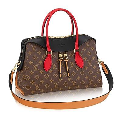 Louis Vuitton Monogram Canvas Tuileries Multi Carry Handbag Noir  Article M41454 Made in France  Handbags  Amazon.com 259b8574a10ff