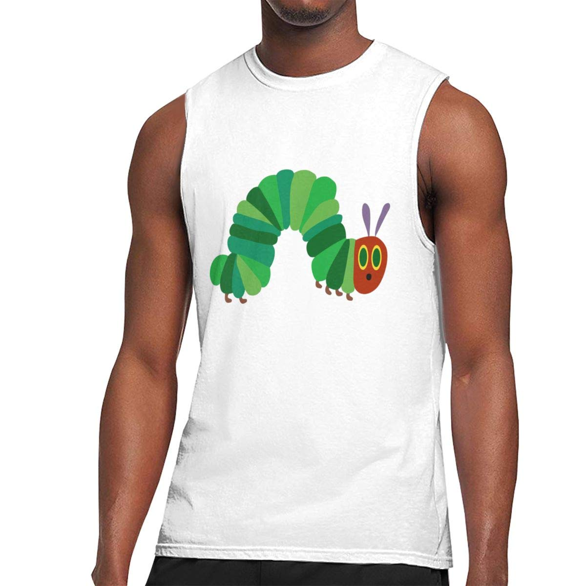 Seuriamin The Very Hungry Caterpillar S Comfortable Walk Sleeveless Muscle Short Sleeve T