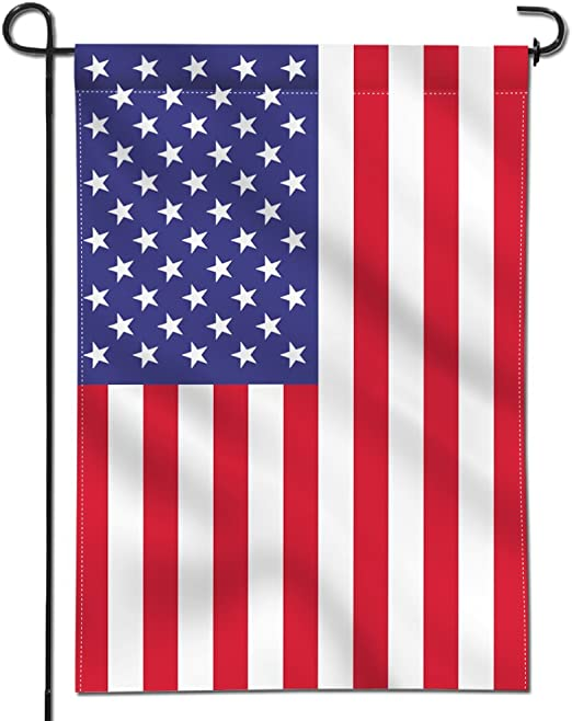 Anley Bandera de Jardín Premium de Doble Cara USA Estados Unidos - Banderas Decorativas de Jardín - Resistente al Clima y Doble Costura - 45 x 30 cm: Amazon.es: Jardín