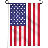 ANLEY [Garden Flag] USA United States Garden Flag - Vivid Color & UV Fade Resistant - Double Sided & Double Stitched - 12.5 x 18 Inch