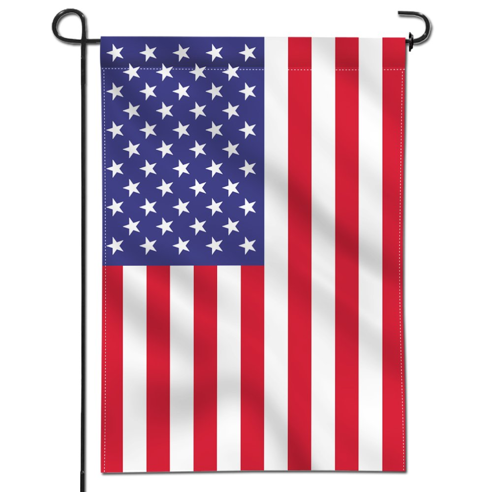 Anley [Double Sided Premium Garden Flag, USA United States Decorative Garden Flags - Weather Resistant & Double Stitched - 18 x 12.5 Inch